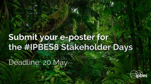 IPBES8 stakeholder days e-poster
